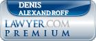 Denis Alexandroff  Lawyer Badge