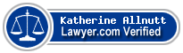 Katherine Diane Allnutt  Lawyer Badge