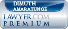 Dimuth C. Amaratunge  Lawyer Badge