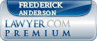 Frederick Westcott Anderson  Lawyer Badge