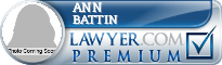 Ann Harding Battin  Lawyer Badge