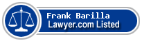 Frank Barilla Lawyer Badge