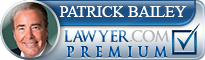 Patrick Evans Bailey  Lawyer Badge