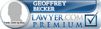 Geoffrey Becker  Lawyer Badge
