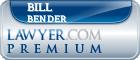 Bill Bender  Lawyer Badge