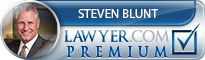 Steven Alan Blunt  Lawyer Badge