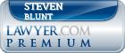 Steven Alan Blunt  Lawyer Badge