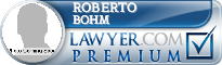 Roberto Agustin Bohm  Lawyer Badge