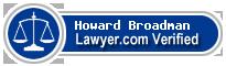 Howard Richard Broadman  Lawyer Badge