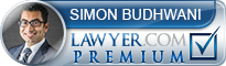 Simon Aziz Budhwani  Lawyer Badge
