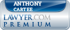 Anthony Cartee  Lawyer Badge