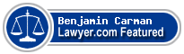 Benjamin James Carman  Lawyer Badge