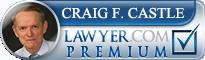 Craig Franklin Castle  Lawyer Badge