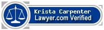 Krista Frances Carpenter  Lawyer Badge