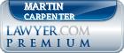 Martin Michael Carpenter  Lawyer Badge