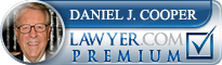 Daniel J. Cooper  Lawyer Badge
