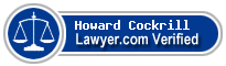 Howard Gregg Cockrill  Lawyer Badge
