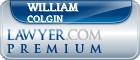 William F Colgin  Lawyer Badge