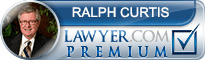 Ralph S. Curtis  Lawyer Badge