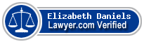 Elizabeth Bayne Daniels  Lawyer Badge