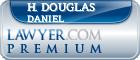 H. Douglas Daniel  Lawyer Badge