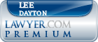 Lee W. Dayton  Lawyer Badge