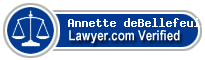 Annette Gisele deBellefeuille  Lawyer Badge