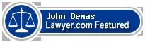 John Nickolas Demas  Lawyer Badge