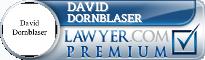 David Webster Dornblaser  Lawyer Badge