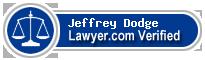 Jeffrey A. Dodge  Lawyer Badge