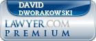 David Dworakowski  Lawyer Badge