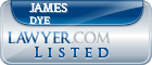 James Dye Lawyer Badge