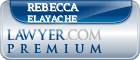 Rebecca Elayache  Lawyer Badge