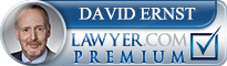 David D. Ernst  Lawyer Badge