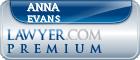 Anna R Evans  Lawyer Badge