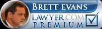 Brett Gregory Evans  Lawyer Badge