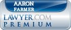 Aaron Aleksandr Farmer  Lawyer Badge