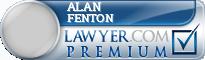 Alan Howard Fenton  Lawyer Badge
