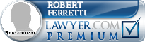 Robert Stephen Ferretti  Lawyer Badge
