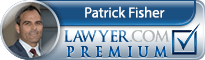 Patrick Leroy Fisher  Lawyer Badge