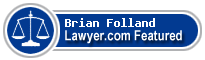 Brian Nicholas Folland  Lawyer Badge