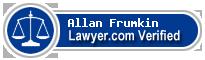 Allan Robert Frumkin  Lawyer Badge
