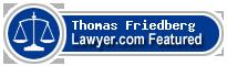 Thomas Franklin Friedberg  Lawyer Badge