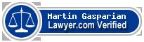 Martin Vanik Gasparian  Lawyer Badge
