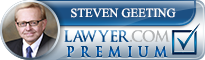 Steven Charles Geeting  Lawyer Badge