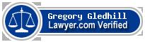 Gregory Thomas Gledhill  Lawyer Badge