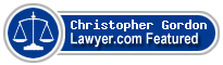 Christopher James Gordon  Lawyer Badge