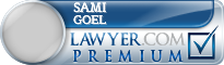 Sami Goel  Lawyer Badge