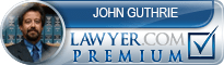 John Alex Guthrie  Lawyer Badge