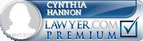 Cynthia Anne Hannon  Lawyer Badge